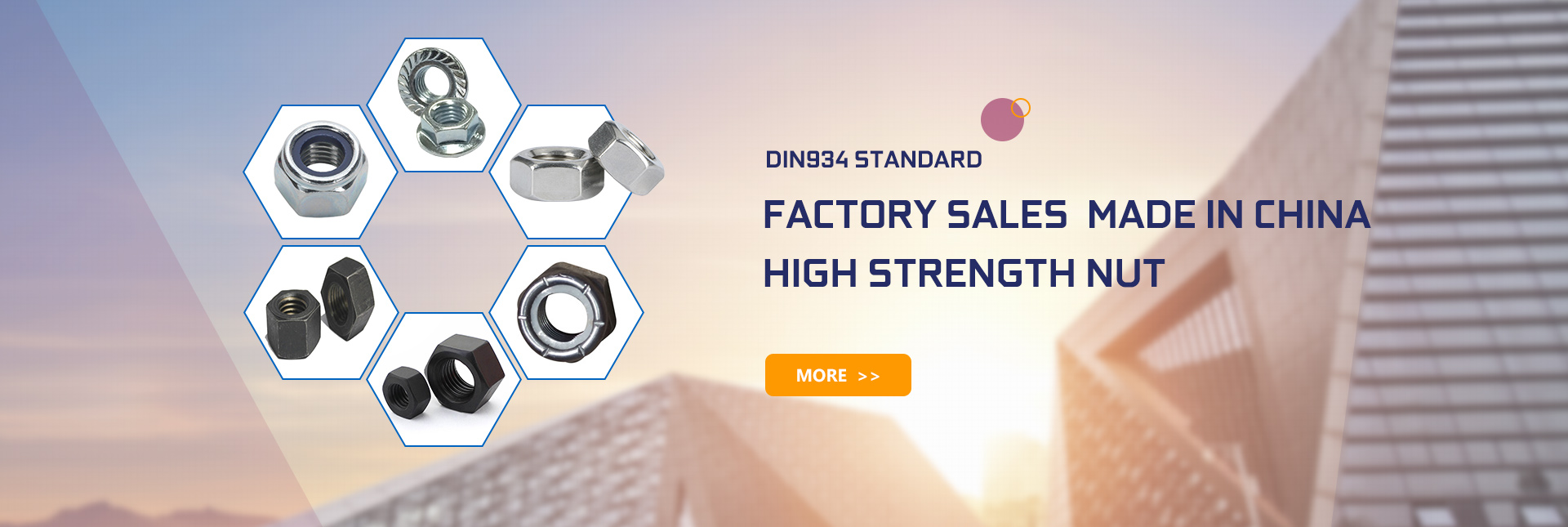 factory sales  made in China   high strength nut