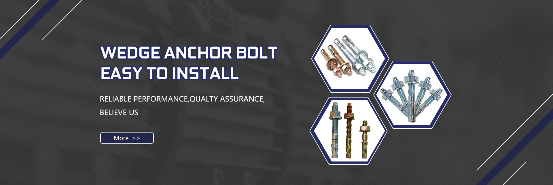 wedge anchor bolt Easy to install